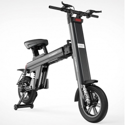 Электровелосипед электроскутер Onebot T8+ Black 500W 36V 8,7Ah