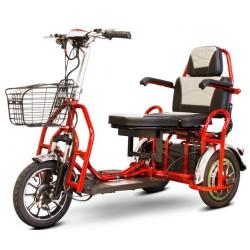 Складной электросамокат трицикл Адьютант А3 350W 48V