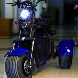 Электробайк трицикл 2000W/ 60V/ 20AH (съемный АКБ)