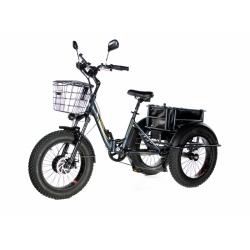 Электровелосипед трицикл фэтбайк E-motions PANDA (складной) 15 Ah 750W