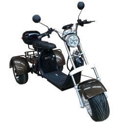 Трицикл Citycoco GT 2000W (+ доп. место под АКБ)