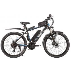 Электровелосипед   велогибрид Eltreco XT-800 LUX