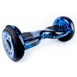 Гироскутер 10,5 SB PREMIUM APP 2.8  Самобалансир синий огонь