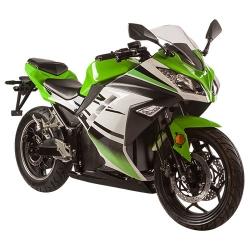 ЭЛЕКТРОМОТОЦИКЛ SKYBOARD MOTO 4000W LIGHT GREEN