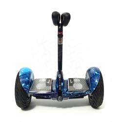 Гироскутер мини-сигвей MINI-ROBOT синий космос VIP