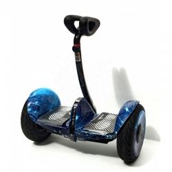Гироскутер мини-сигвей MINI-ROBOT синий космос 54V