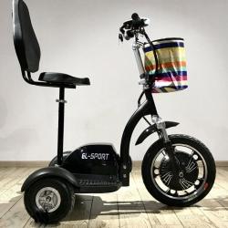 Электросамокат трицикл EL-Sport Zappy (С ПЕРЕДНЕЙ ВИЛКОЙ) 500w 48v/12Ah