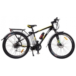 Велогибрид Eltreco ULTRA  500W black/green