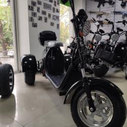 Электробайк трицикл WS 2000W/ 60V/ 20AH (съемный АКБ) 2019