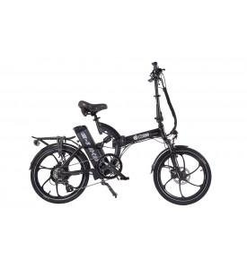 Велогибрид Eltreco TT 500W SPOKE MATT BLACK литые диски