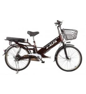 Электровелосипед велогибрид E-Alfa GL
