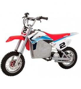 Электробайк Razor SX500 White-blue-red
