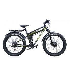 Велогибрид UBERBIKE FAT 48V-1000 BLACK