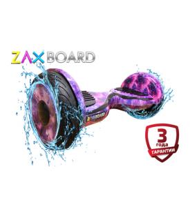 Гироскутер Zaxboard ZX-11 Pro (фиолетовый космос)