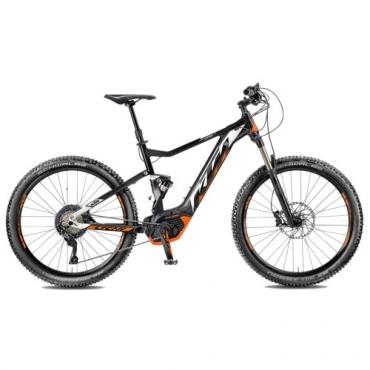 "Электровелосипед KTM MACINA LYCAN 274 (17""/43cm) 11G black matt-white"