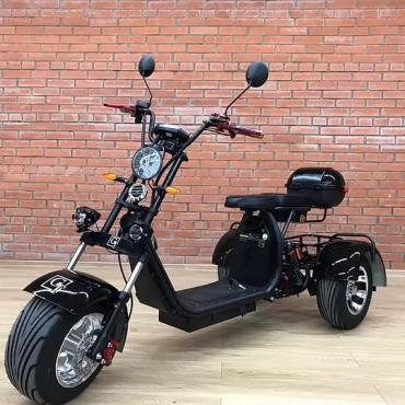 Электроскутер Трицикл Citycoco GT 3000W 20 AH (+ доп. место под АКБ)