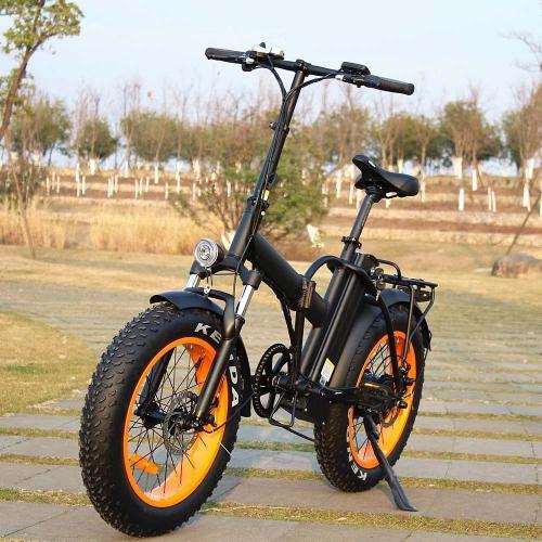Электровелосипед велогибрид Кибербайк 500W 48V12AH
