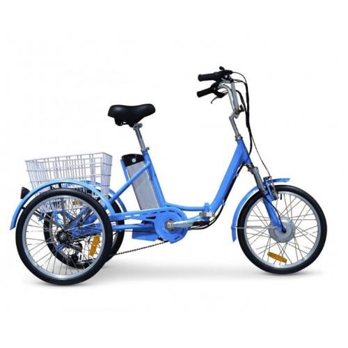 Электровелосипед GreenCamel Trike-20 (R20 500W 48V 15Ah) Складной