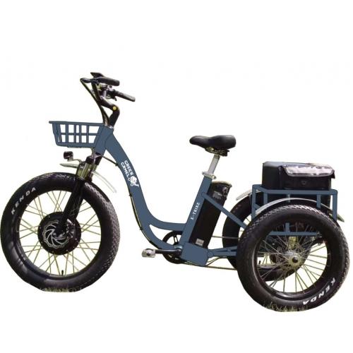 Электровелосипед GreenCamel Trike-F (R26FAT 1000W 48V 20.3Ah) шины FAT