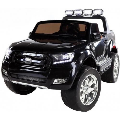 Детский электромобиль Dake Ford Ranger Black 4WD MP4 - DK-F650