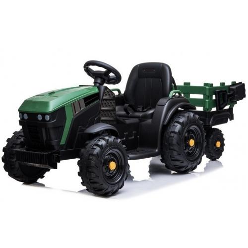 Детский электромобиль Bettyma трактор с прицепом 2WD 12V - BDM0925-GREEN