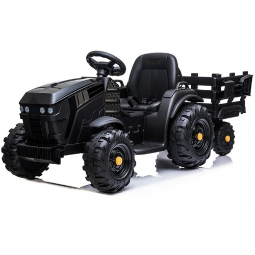 Детский электромобиль Bettyma трактор с прицепом 2WD 12V - BDM0925-BLACK