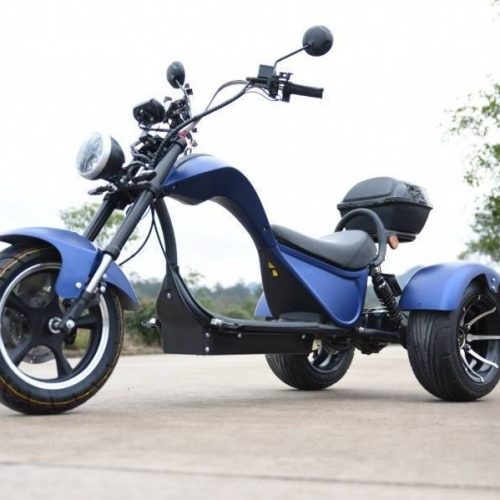 Электроскутер CityCoco SkyBoard Trike Chopper 1500W/ 60V/ 20АH