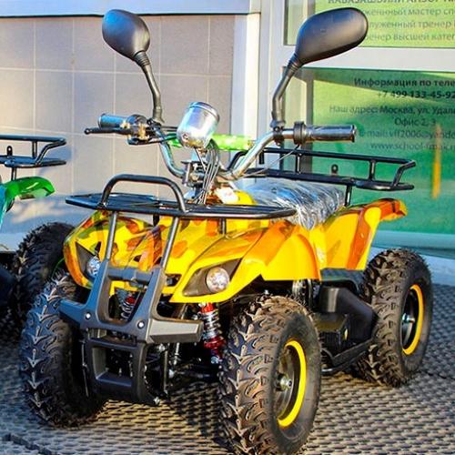 Детский электроквадроцикл Mytoy EX mini 500 ватт, 36V/12Ah