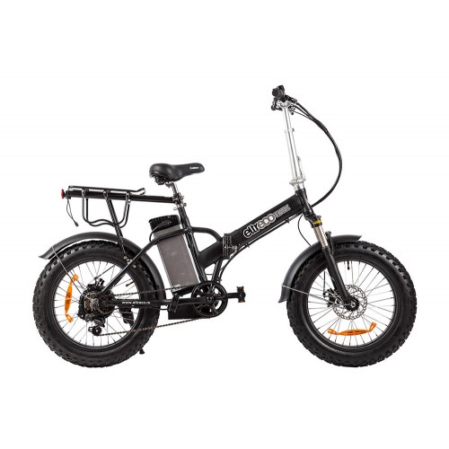 "Велогибрид Eltreco Pragmatic FAT 20"" matt black"