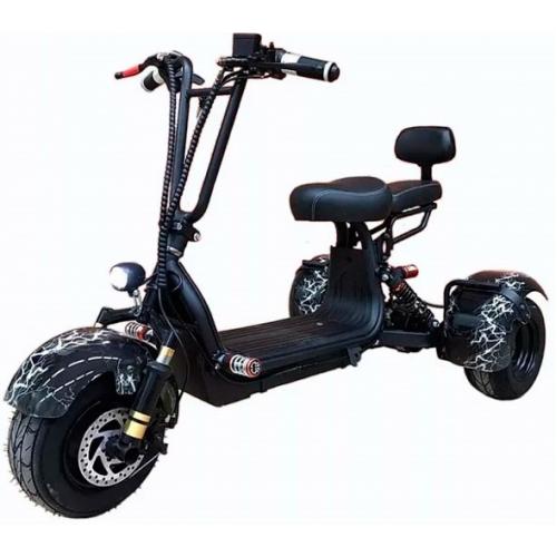 Электроскутер трицикл CityCoco TRIKE GT-X3 mini 1000W 48V 13AH