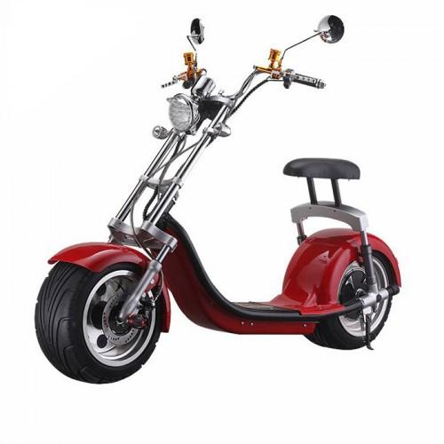 Электробайк Citycoco Harley LUX 2000W/ 60V/ 20AH