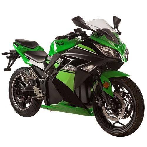 Электромотоцикл SkyBoard MOTO 6000W DARK GREEN / GRAY