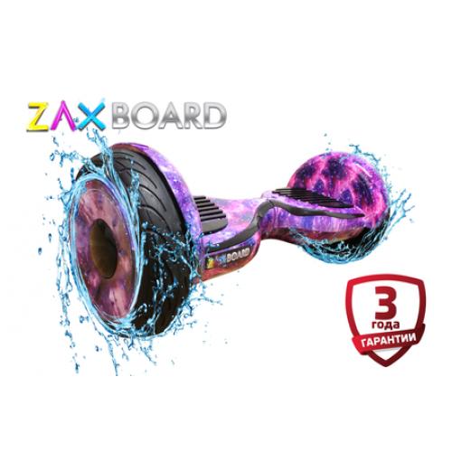 Гироскутер Zaxboard ZX-11 Pro (фиолетовый космос) Аквазащита