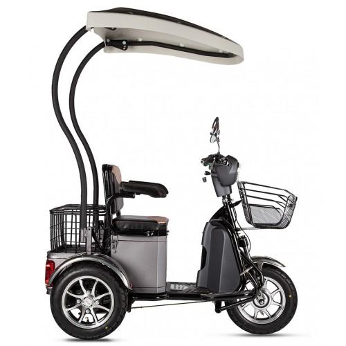 Трицикл S1 V2 500W 48V / 18Ah LUX (С КРЫШЕЙ)