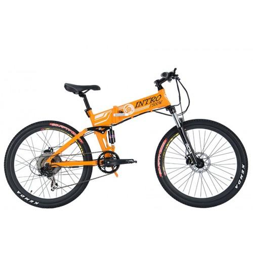 Электровелосипед велогибрид Volteco Intro 500 w