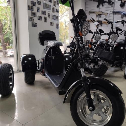 Электробайк трицикл WS 2000W/ 60V/ 20AH (съемный АКБ)