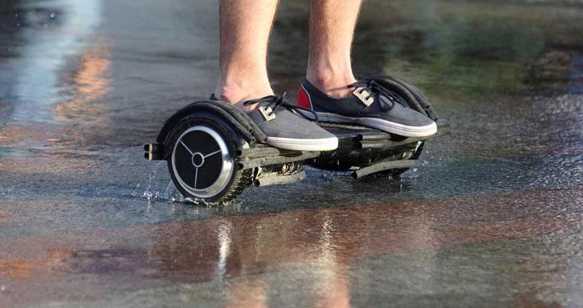 Вы можете самостоятельно сделать аквазащиту для гироскутера